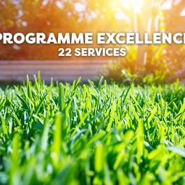 Entretien de gazon - Programme excellence